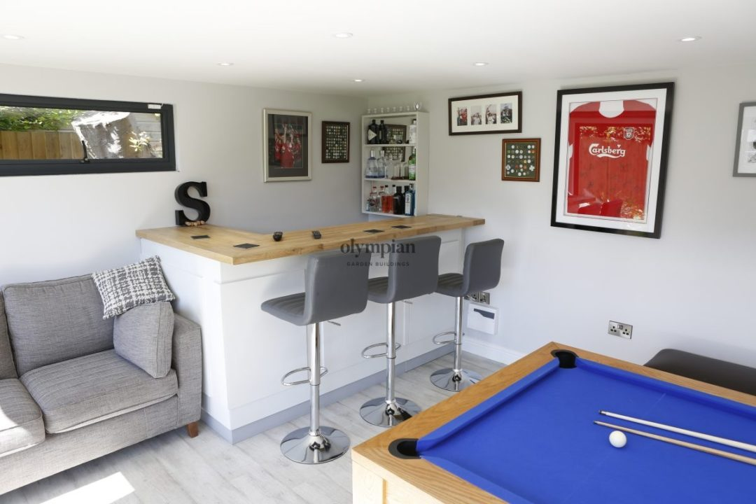 Bar Pub Shed Studio in Cheshire