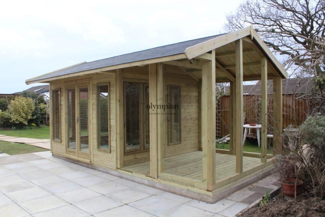 Bespoke Summerhouse in Chester