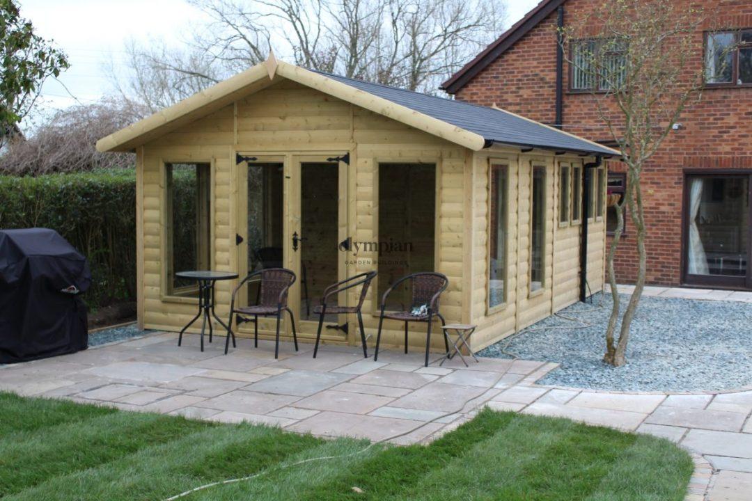 Combination Summerhouse near Nantwich
