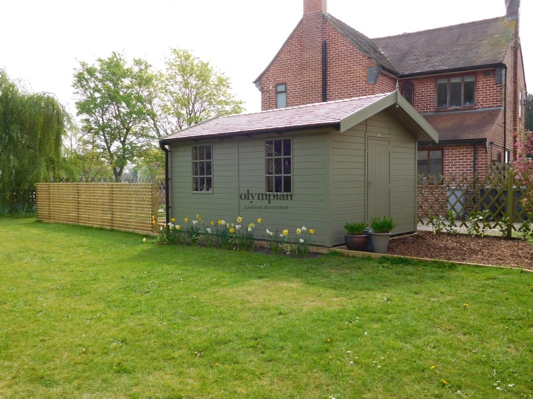 Prestige Workshop & Greenhouse in Wrenbury