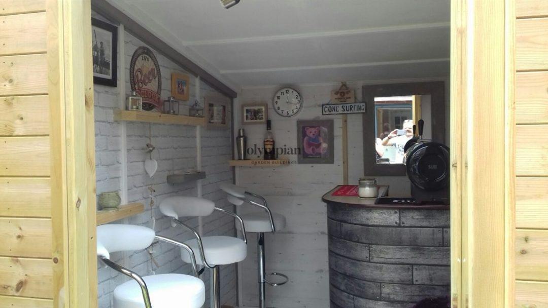 Pub Shed in Macclesfield