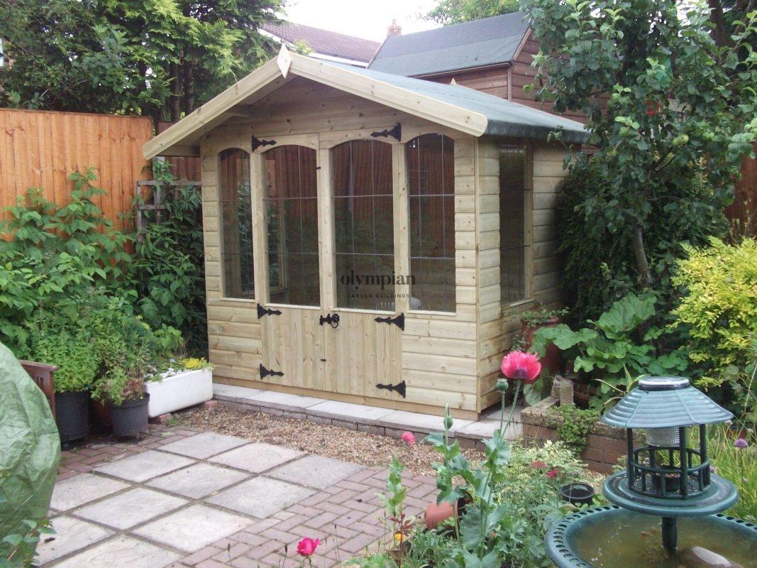 Siddington traditional style summerhouse