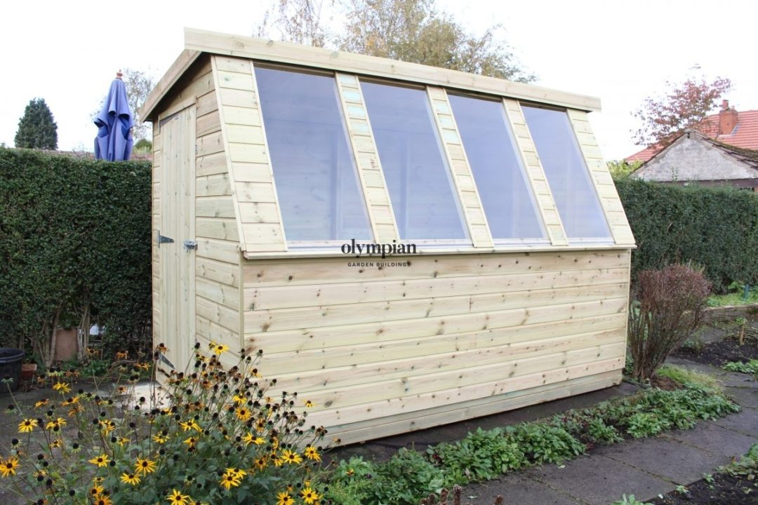 Solar Potting Sheds 107