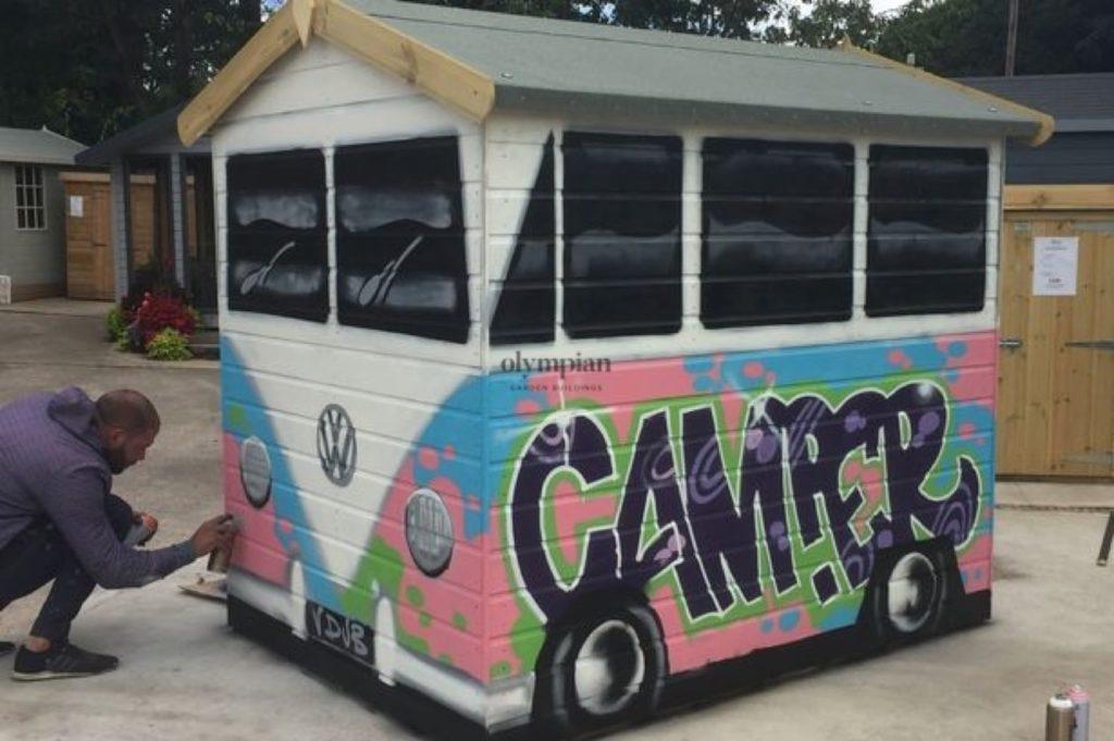 VW Camper Van Shed Transformation