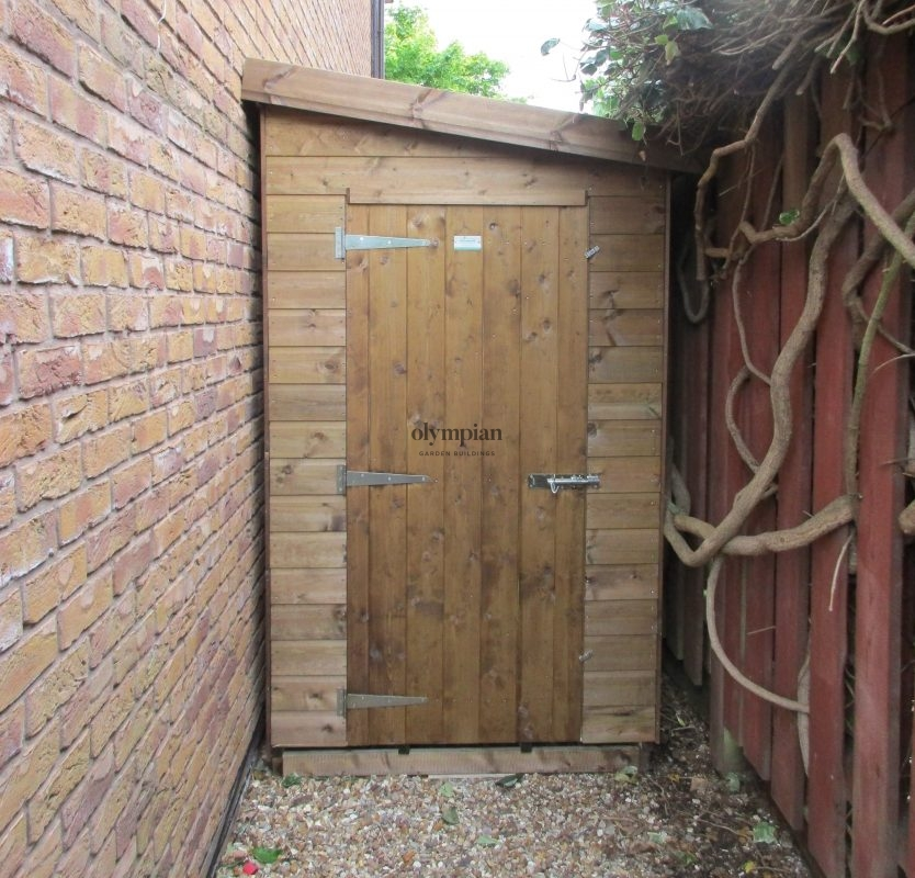 Alleyway Sheds made to measure in Sandbach England