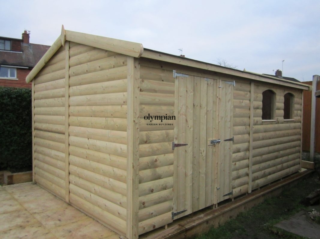 Apex / Pitched Roof Workshops 99