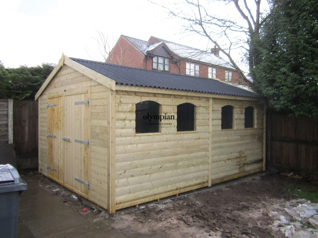 Apex / Pitched Roof Workshops 108
