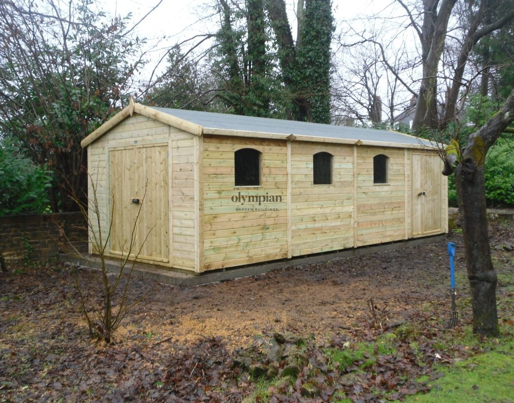 Apex / Pitched Roof Workshops 10