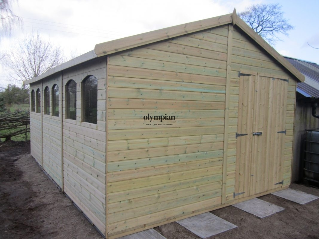 Apex / Pitched Roof Workshops 113