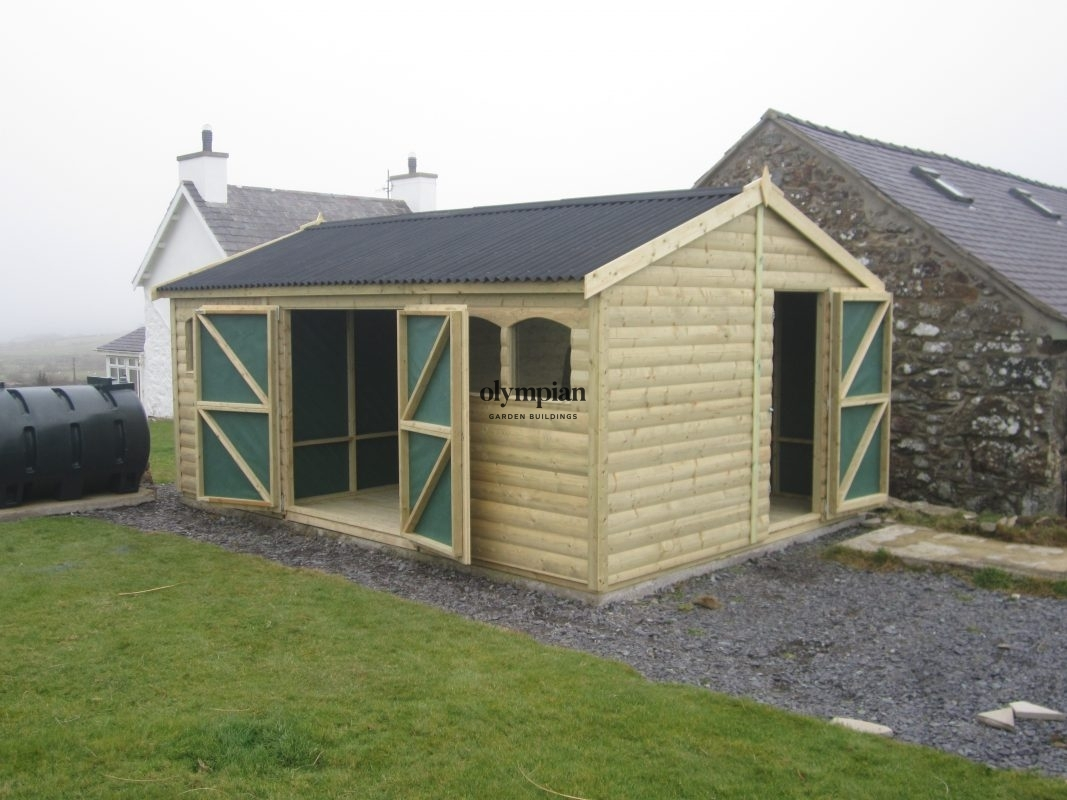Apex / Pitched Roof Workshops 115