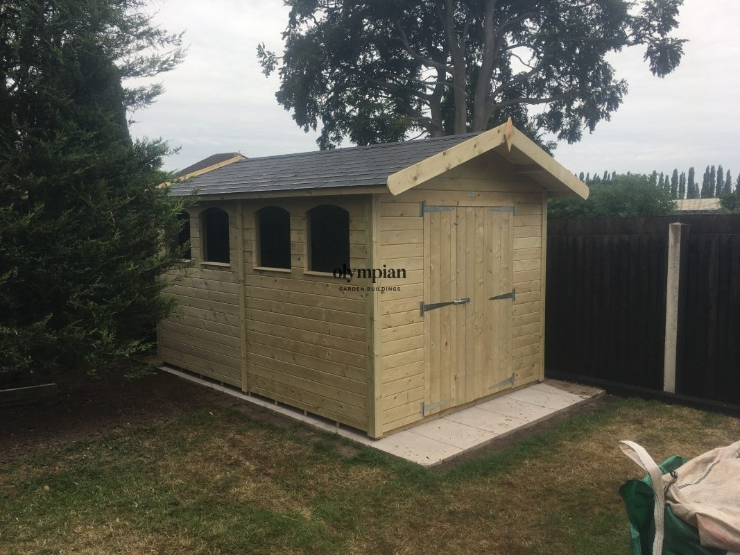 Apex / Pitched Roof Workshops 121
