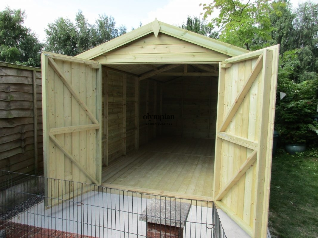 Apex / Pitched Roof Workshops 130