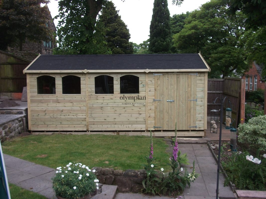 Apex / Pitched Roof Workshops 14