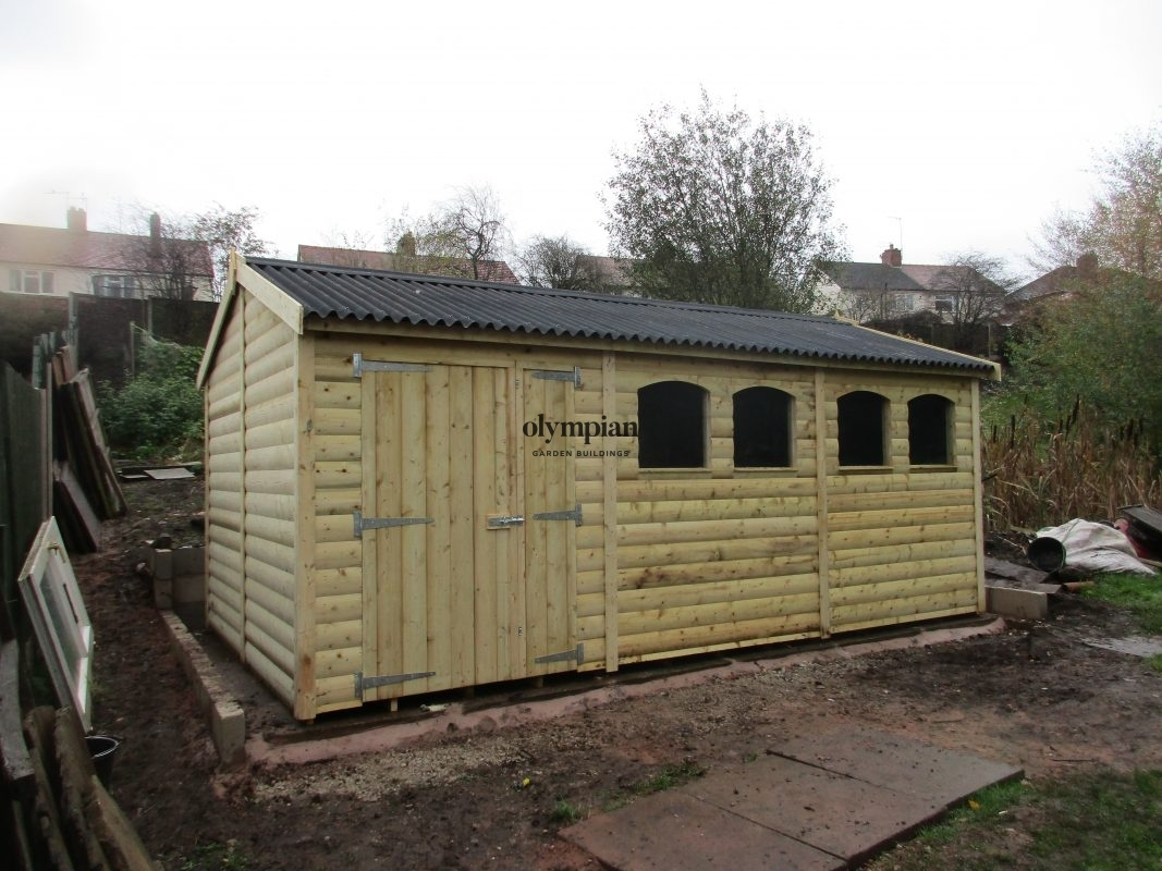 Apex / Pitched Roof Workshops 158