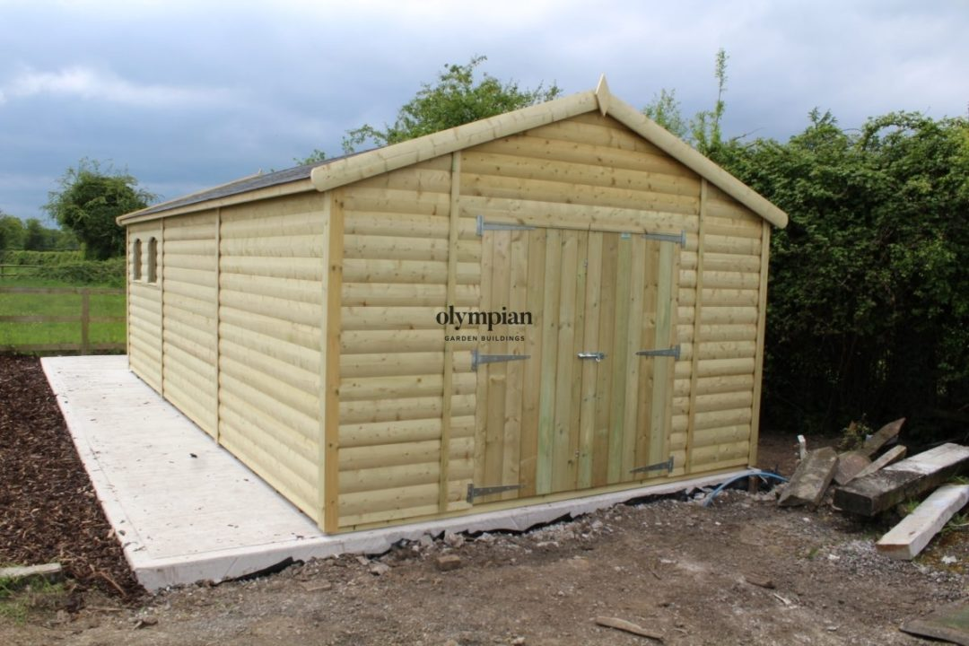 Apex / Pitched Roof Workshops 170