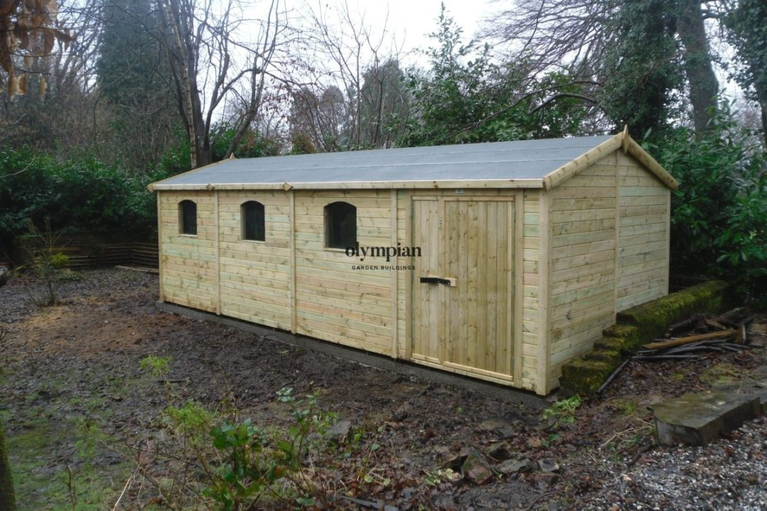 Apex / Pitched Roof Workshops 205
