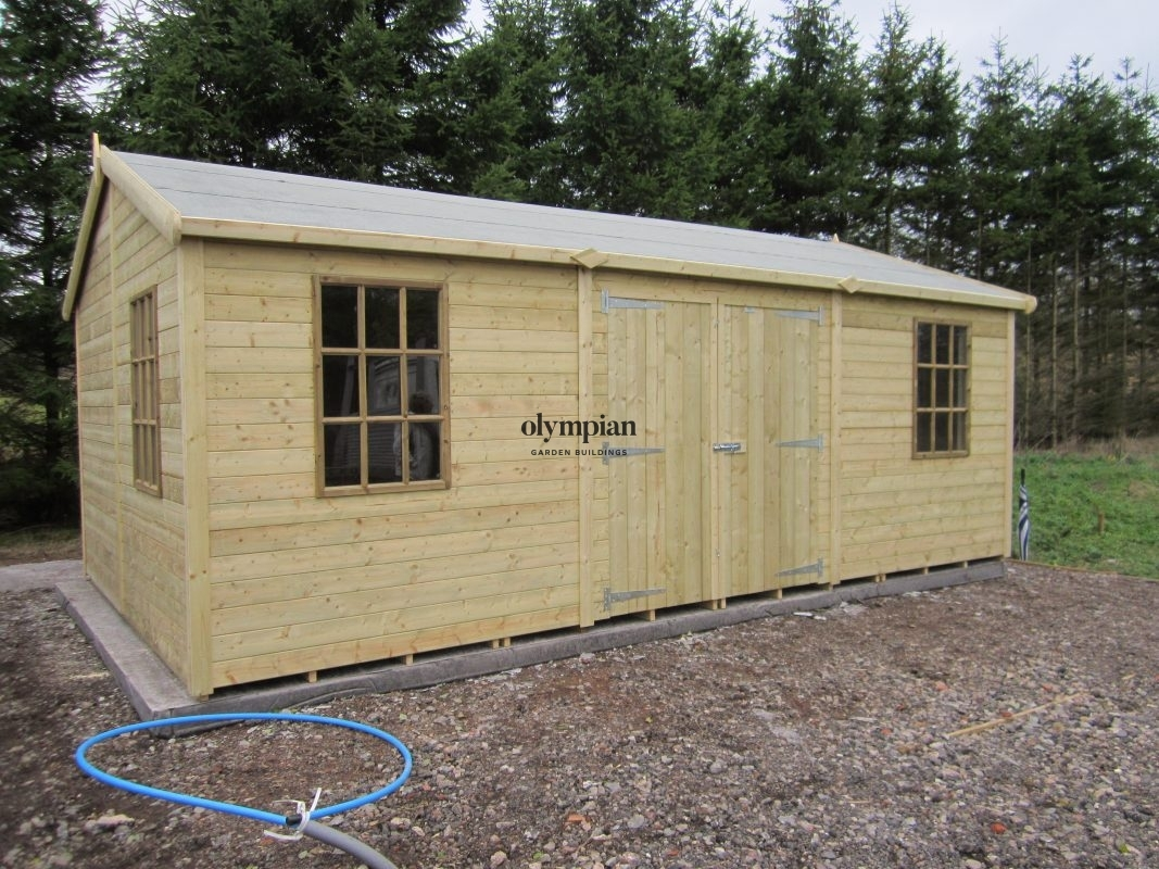 Apex / Pitched Roof Workshops 215