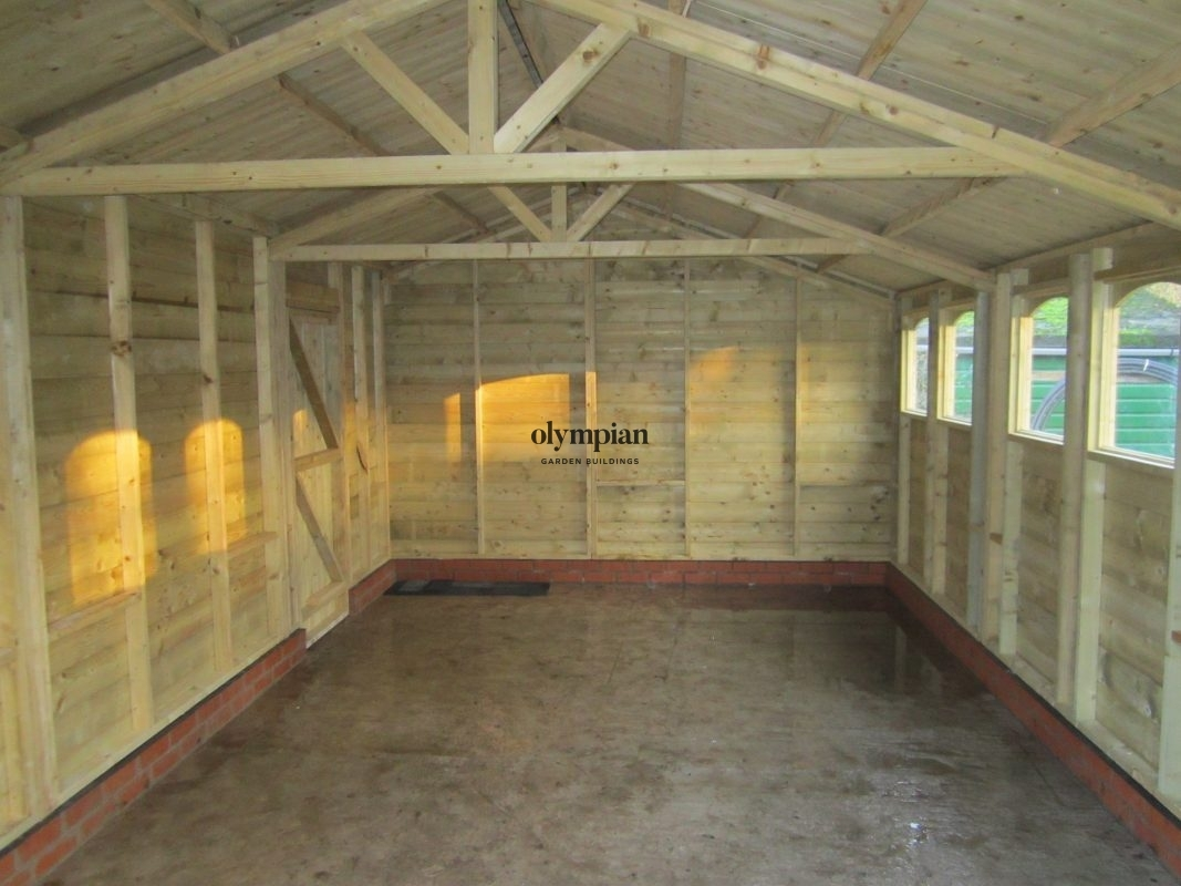 Apex / Pitched Roof Workshops 95