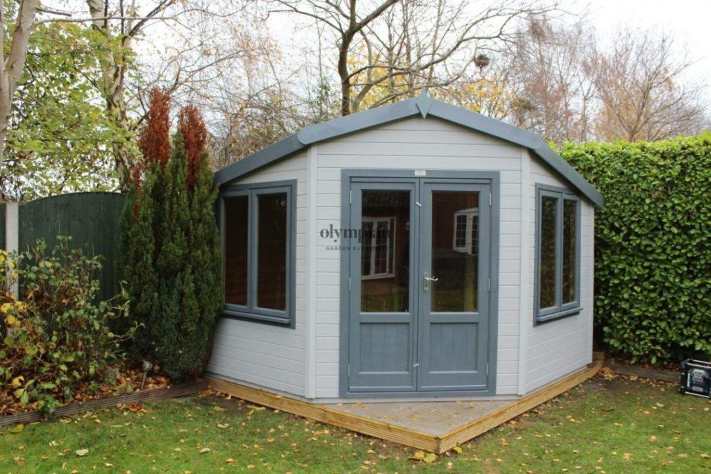 Apex Roof Corner Summerhouse