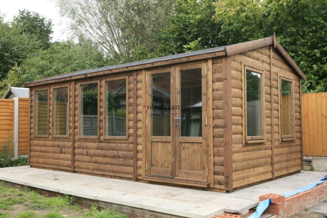 Modern garden studio