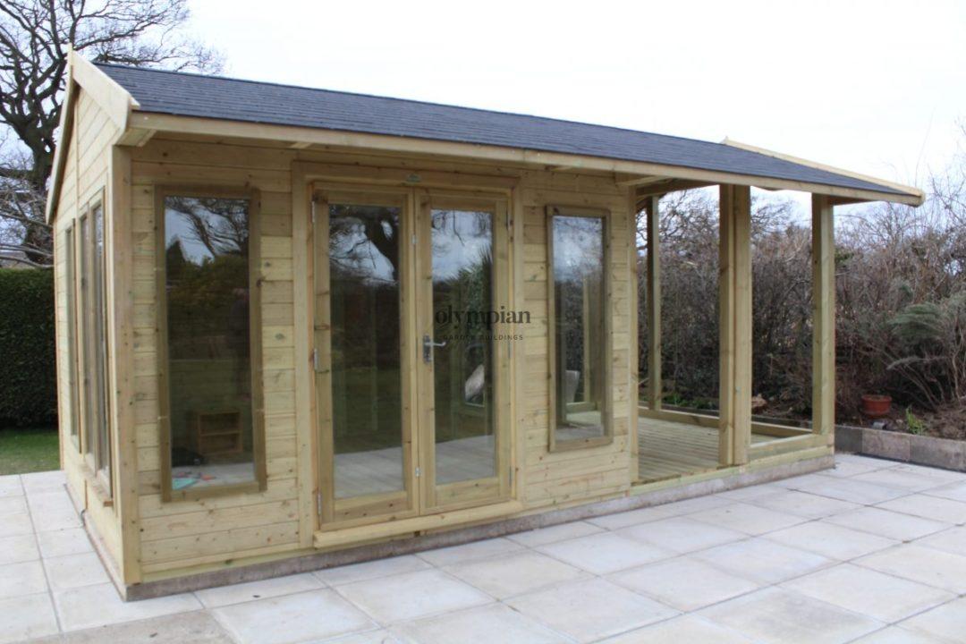 Bespoke Cheshire Studio with balcony