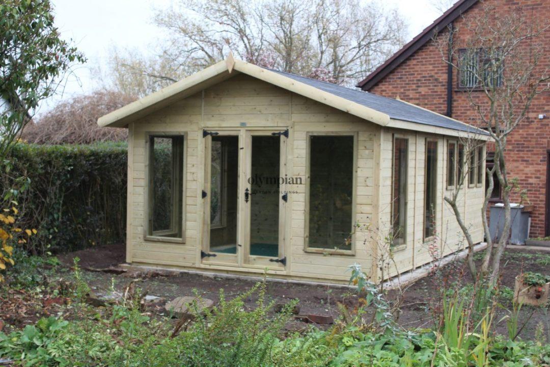 Combination Summerhouse near Nantwich 2