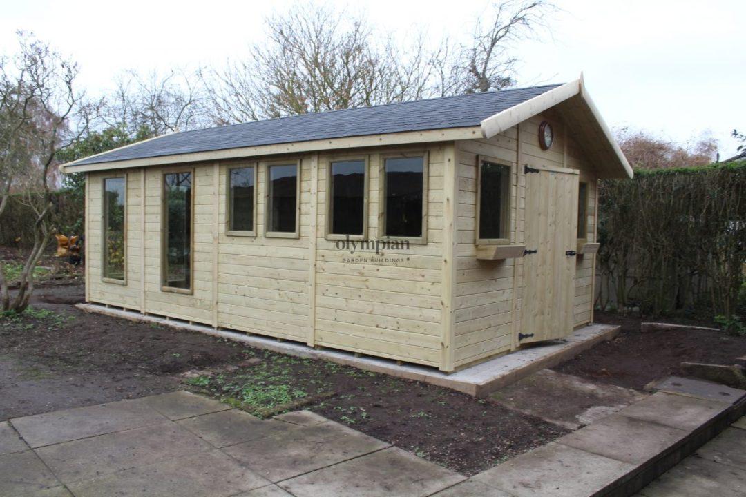Combination Summerhouse near Nantwich 3