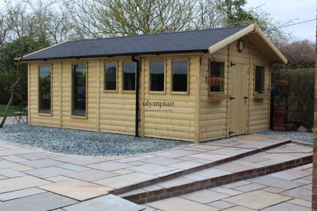 Combination Summerhouse near Nantwich 5