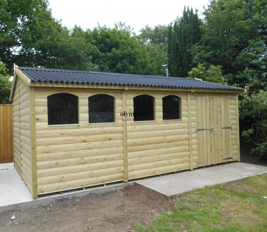 Heavy Duty Apex Shed 178