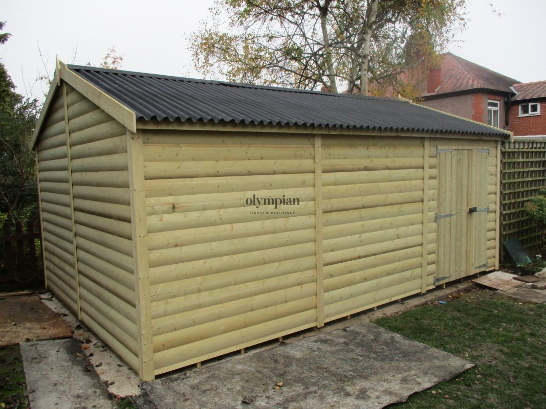 Heavy Duty Security Shed 9