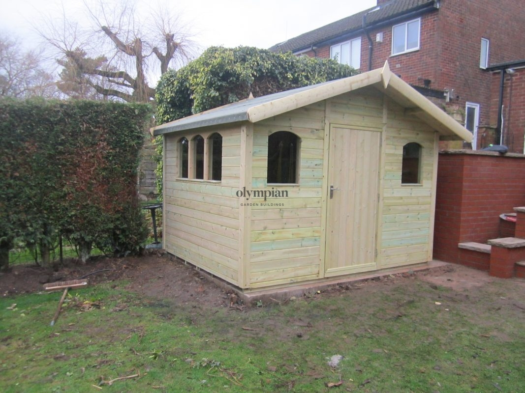 Heavy Duty Security Shed 10