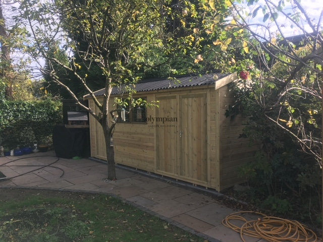 Heavy Duty Security Shed 13