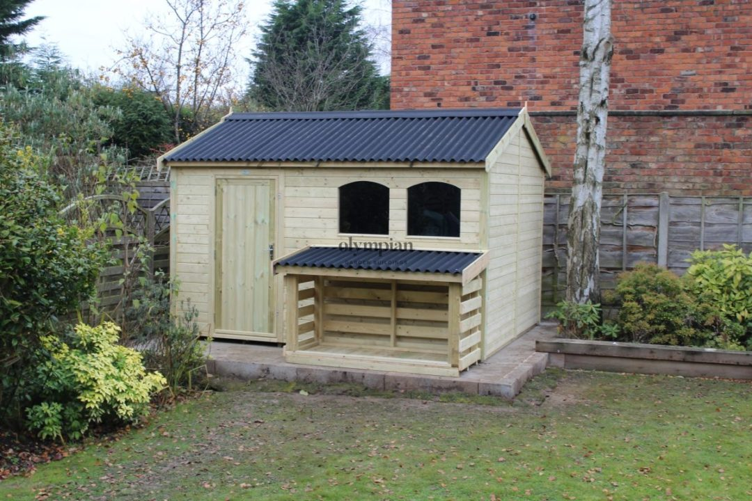 Heavy Duty Security Shed 16