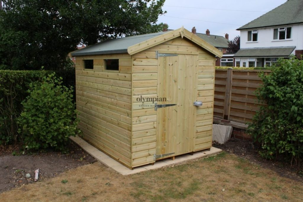 Heavy Duty Security Shed