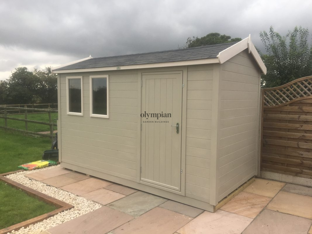 Heavy Duty Security Shed 19