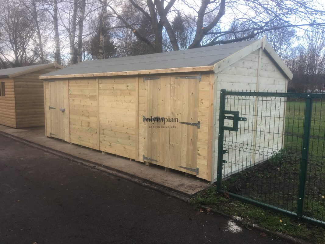 Heavy Duty Security Shed 20