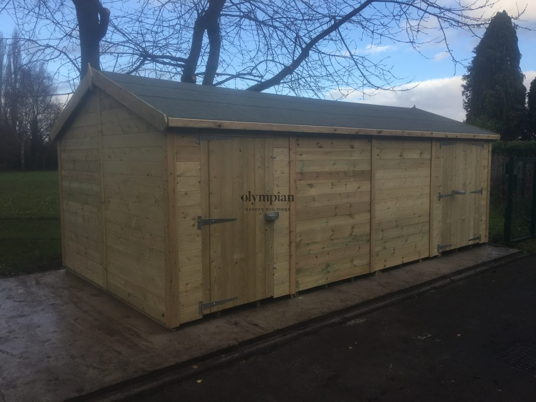 Heavy Duty Security Shed 21