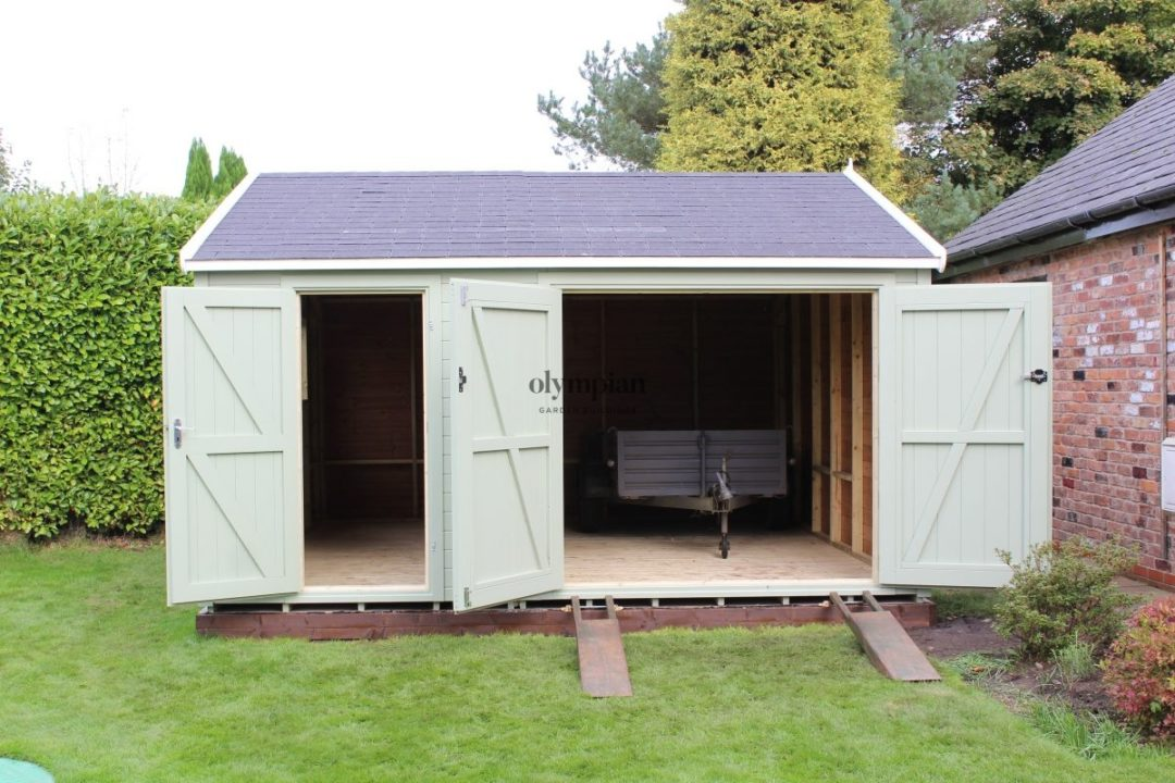 Heavy Duty Security Shed 24