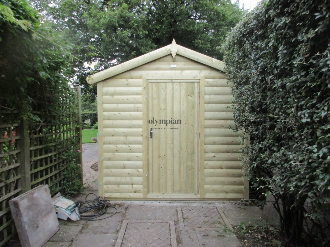 Heavy Duty Security Shed 26