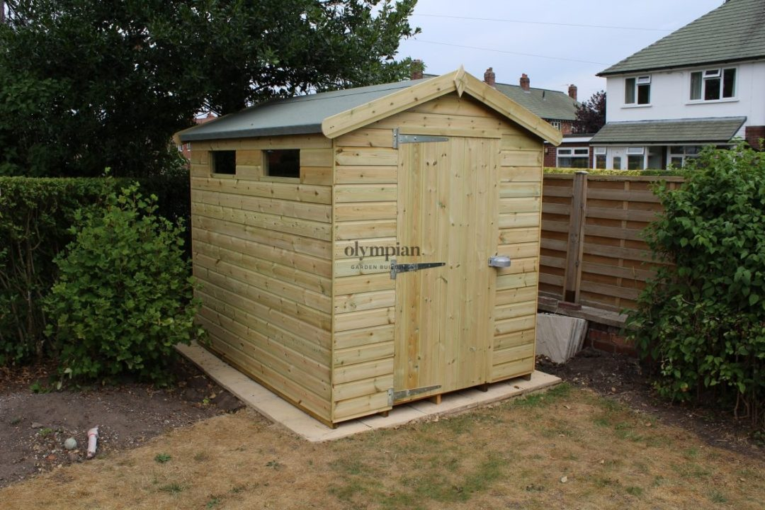 Heavy Duty Security Shed 1