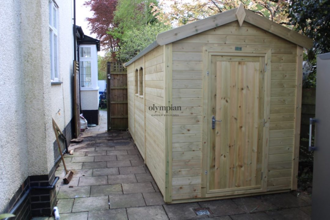 Heavy Duty Security Shed 28