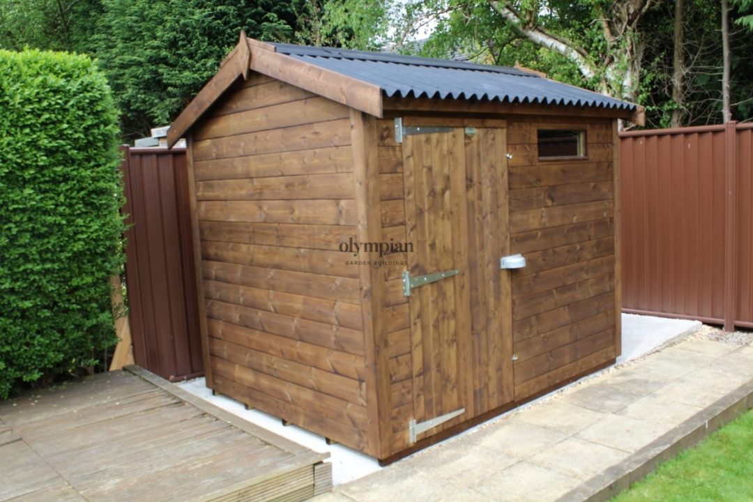 Heavy Duty Security Shed 29