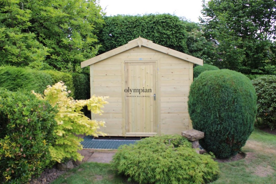 Heavy Duty Security Shed 30