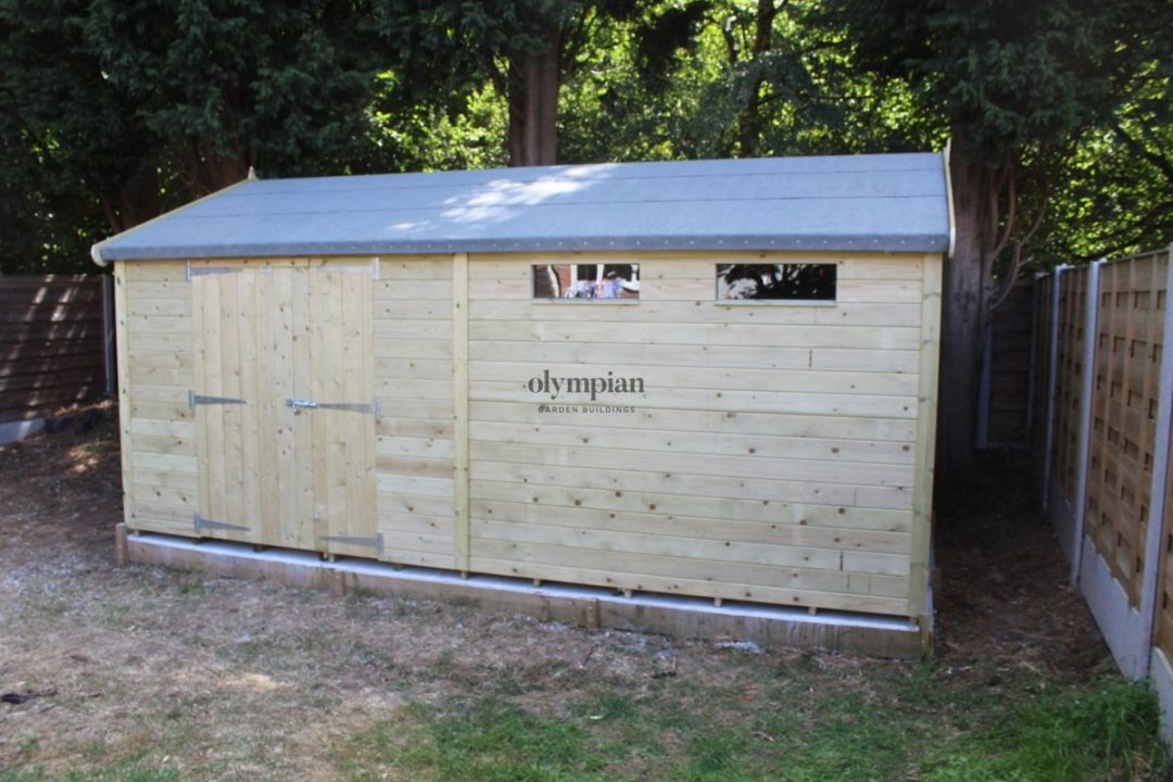Heavy Duty Security Shed 32