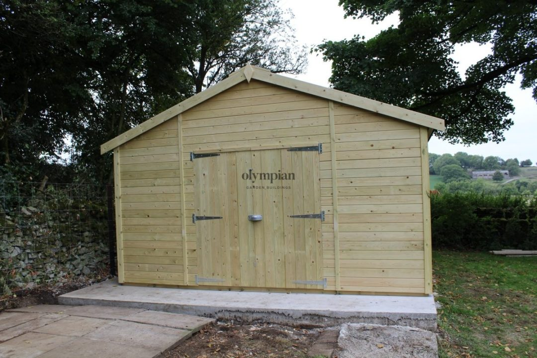 Heavy Duty Security Shed 35