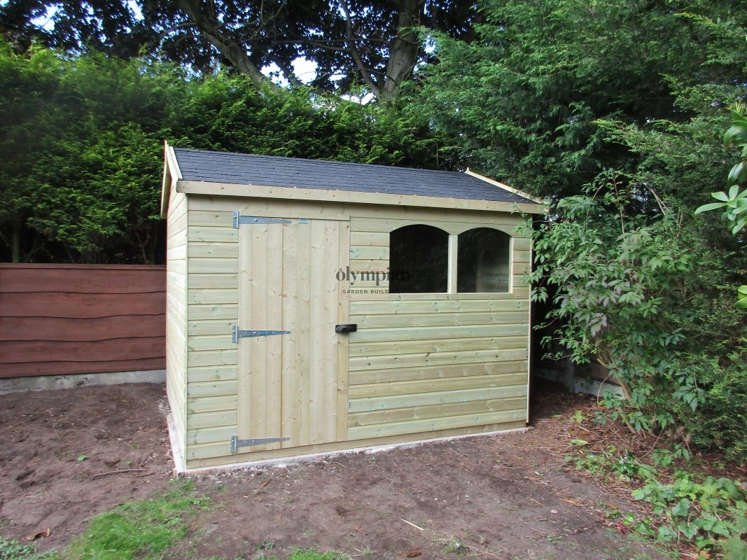 Heavy Duty Security Shed 2
