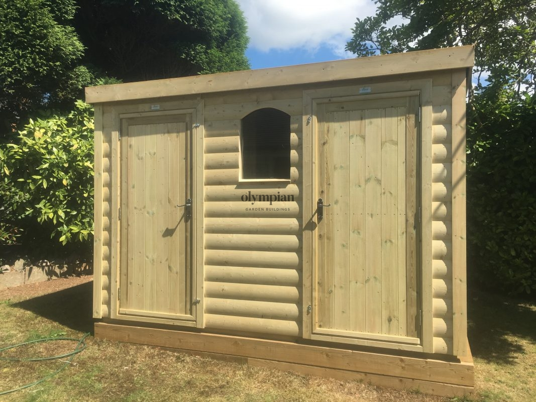 Heavy Duty Security Shed 40