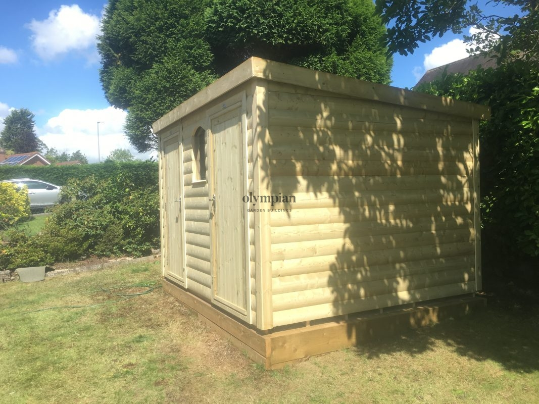 Heavy Duty Security Shed 41