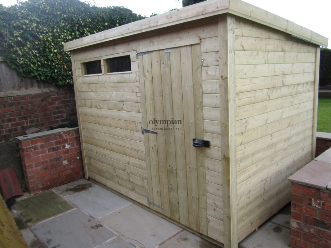 Heavy Duty Security Shed 42