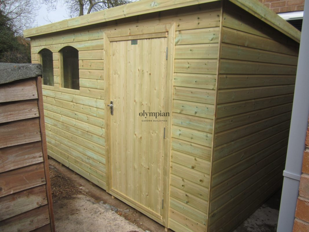 Heavy Duty Security Shed 44